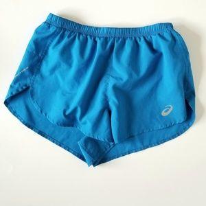 Asics running shorts blue size small - 0005
